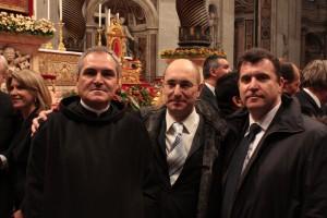 El Gran Maestre y miembros Orden Caballeros y Damas de San Juan de Dios en Vaticano, nov. 2010