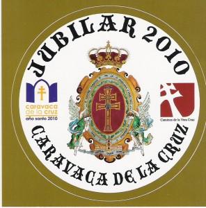 Emblema del Año Jubilar de Caravaca de la Cruz 2010
