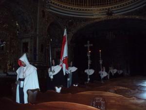 Vela del Santo Sepulcro de San Juan de Dios, inicio de la procesión de entrada 5-11-2010 005