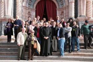 Caballeros y Damas de San JUan de Dios peregrinaron al Santuario de la Cruz de Caravaca, 11-12-2020
